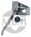 Universal right angle booster bracket.